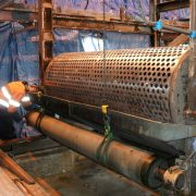 Sludge press overhaul - Christchurch waste water plant