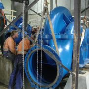 Pump installation - Black Point irrigation scheme