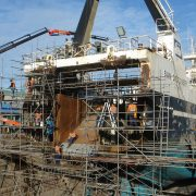 Trawler - San Discovery - stern replacement
