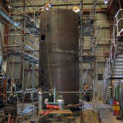 5MW boiler fabrication