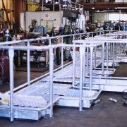 Bridgestone - tyre factory platform trial assembly