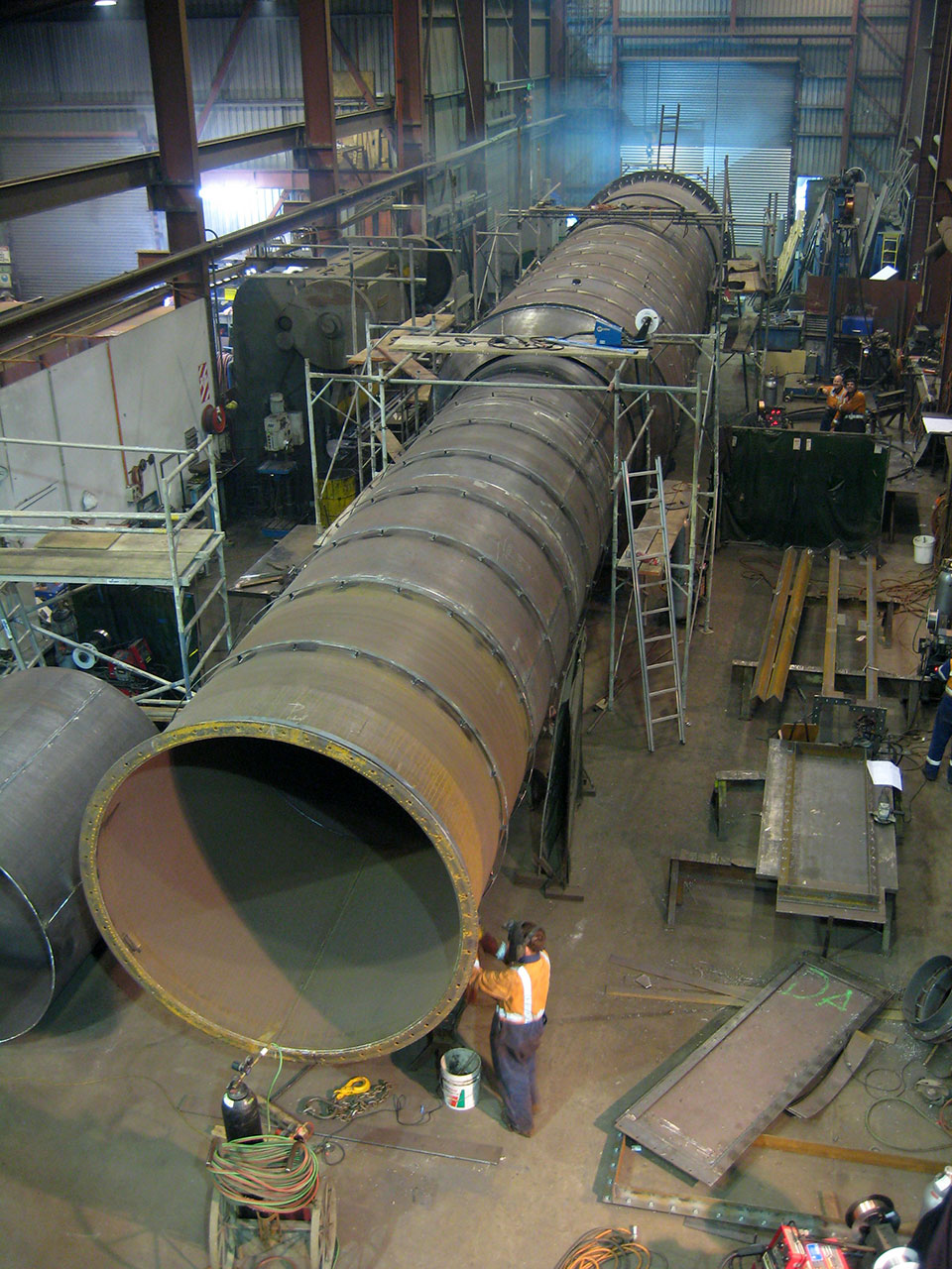 Boiler stack for Awarua