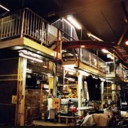 Bridgestone - tyre factory handrailing