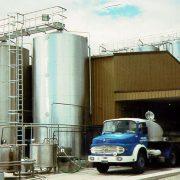 Goodman Fielder - milk processing plant, silo access platform & ladder