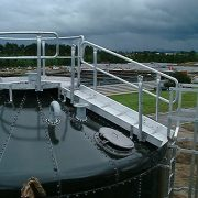 Hamilton - waste water plant, tank access platform & ladder