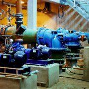 Sludge pipework installation - Christchurch waste water plant