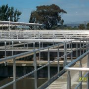 Christchurch - waste water plant handrailing