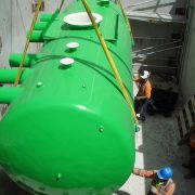 Vacuum tank installation - Christchurch