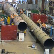 40M boiler stack for Timaru