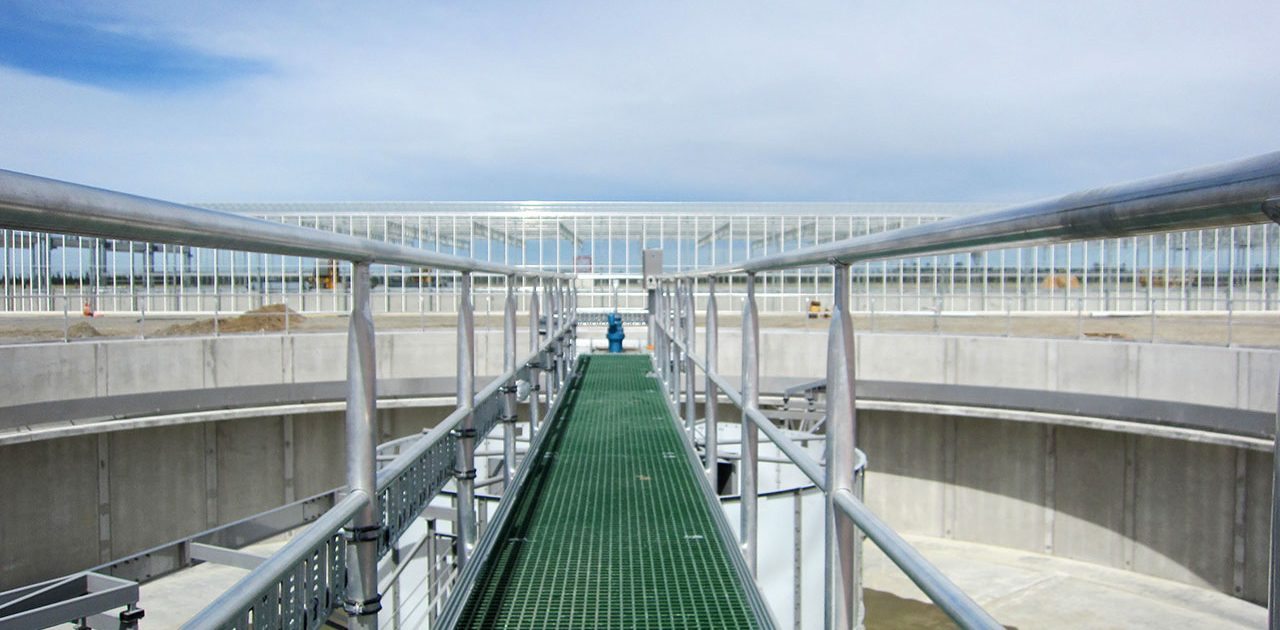 Rolleston - waste water plant handrailing