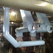 Conversion of boiler to wood firing - Dunedin
