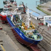 Trawler - Sureste 707 - in dry dock