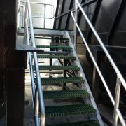 Lyttelton Port Company - filtration plant stairway