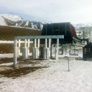 Automatic access gate - Cardron ski field