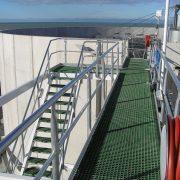 Hamilton - waste water plant stairs & platform