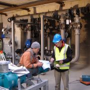 Pipework installation - Christchurch waste water plant