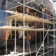 Trawler - San Aspiring - hull repairs