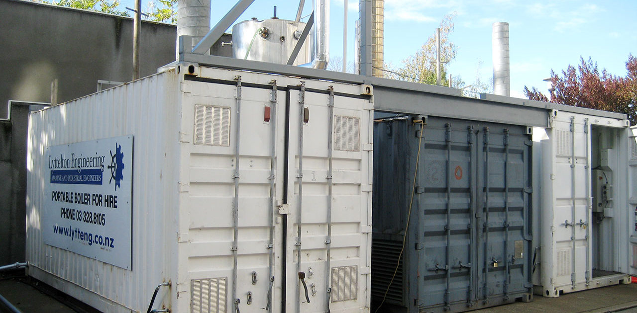 Lyttelton Engineering - Hire Boilers